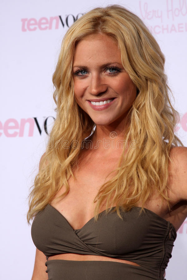 Download Brittany Snow editorial stock photo. Image of october - 25925308