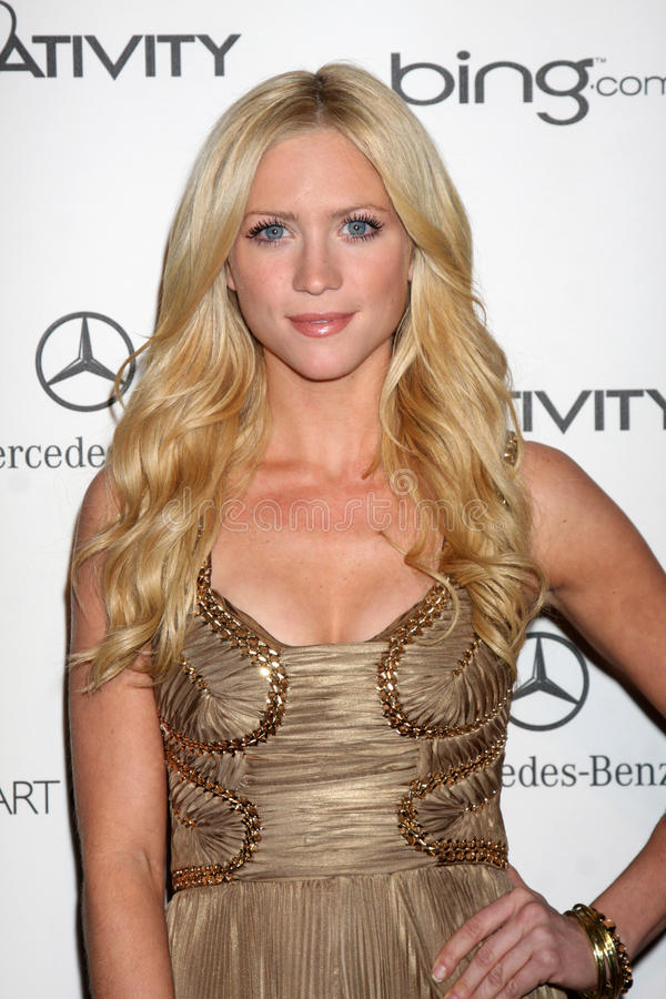 Brittany Snow image stock