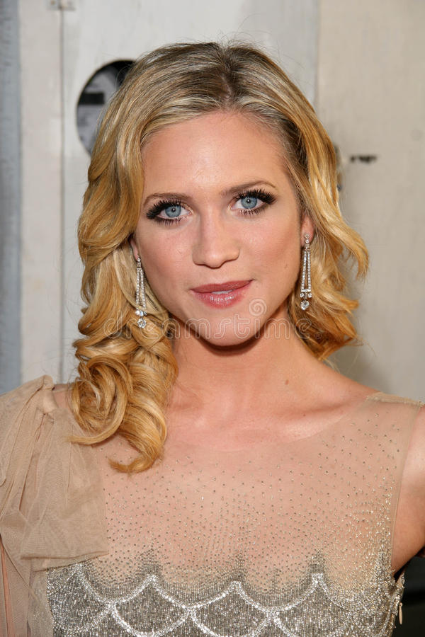 Brittany Snow photo libre de droits