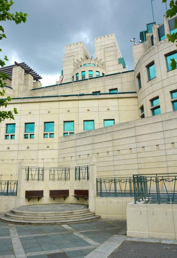 Brittisk byggnad för säkerhetstjänst MI5 royaltyfri fotografi