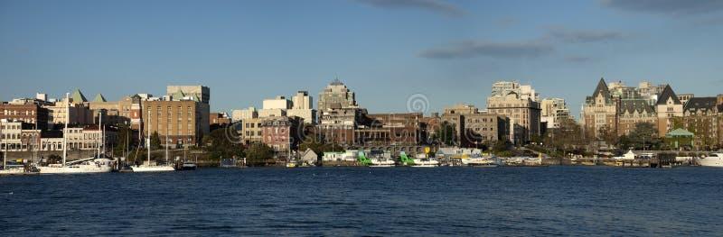 brittisk columbia i stadens centrum panorama- victoria sikt arkivfoton