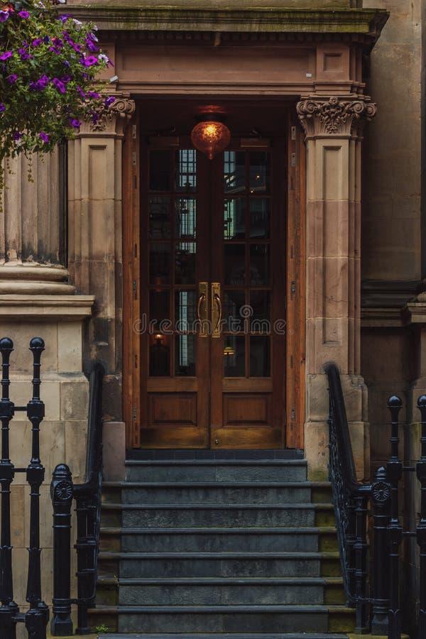 Brittisk dörr arkivfoto