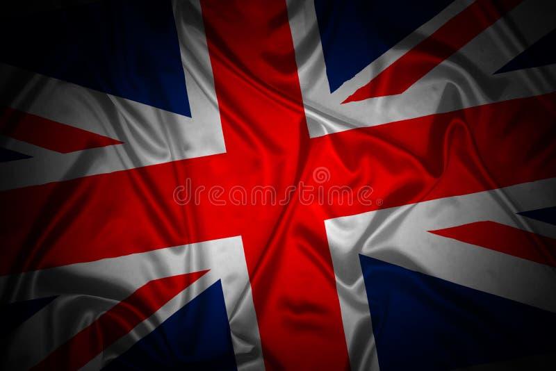 brittisk flagganational royaltyfri illustrationer