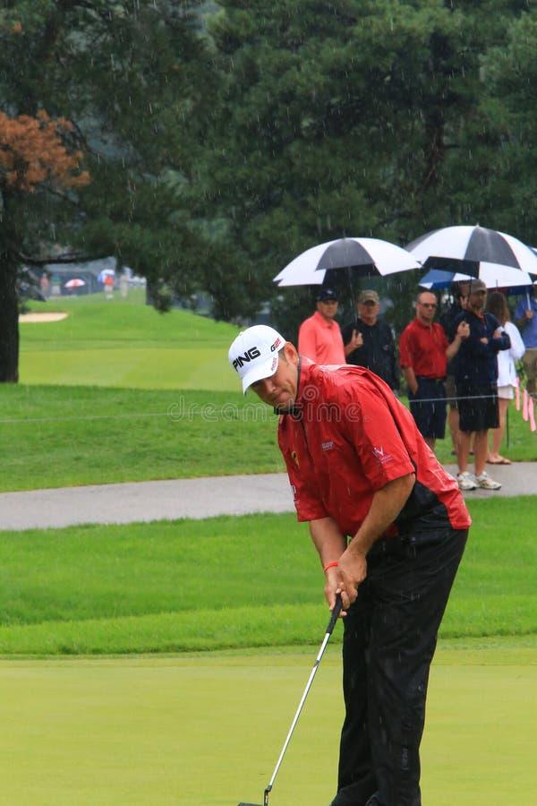 Brittisk golfare Lee Westwood arkivbilder