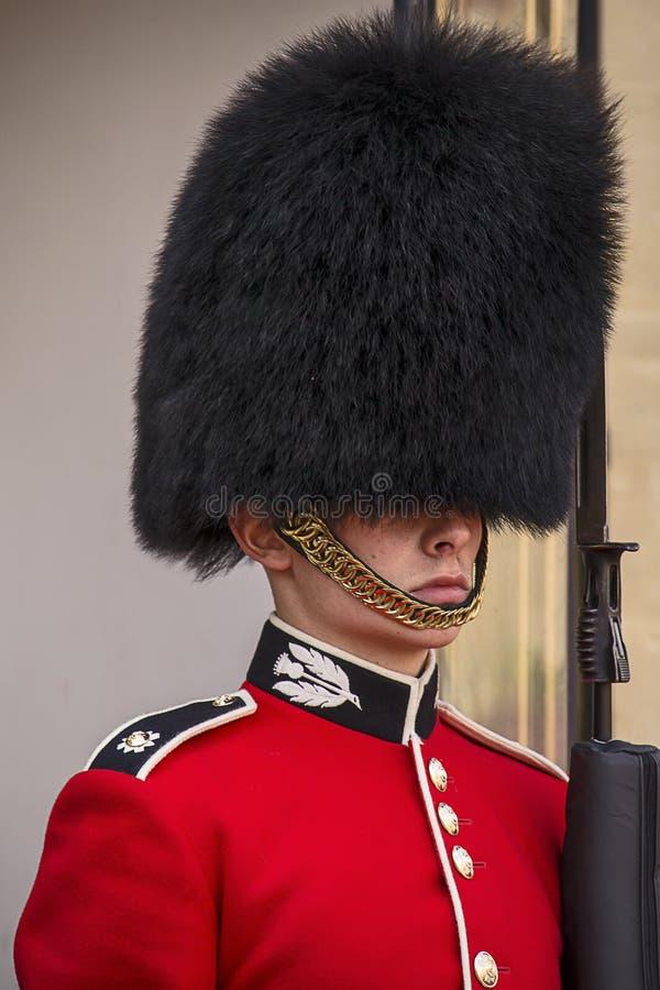 Brittisk kunglig vaktstående fotografering för bildbyråer