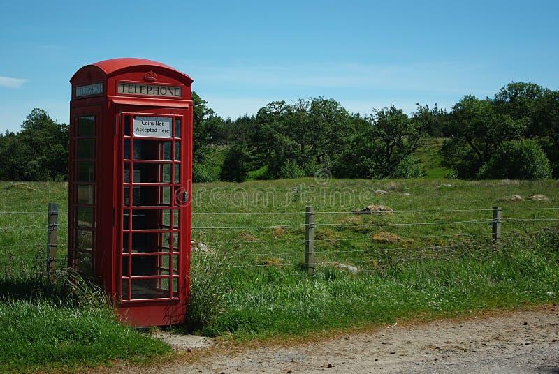 brittisk telefon arkivbild
