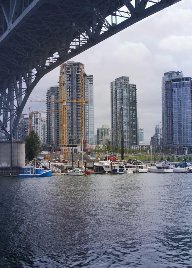 Download Brittiska Columbia Vancouver Fotografering för Bildbyråer - Bild av hamn, vancouver: 289603