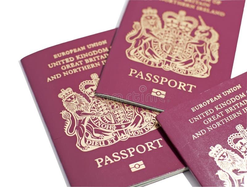 brittiska pass fotografering för bildbyråer