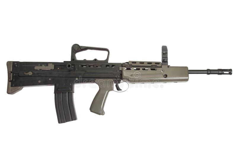 Brittiskt anfallgevär L85A1 arkivbild