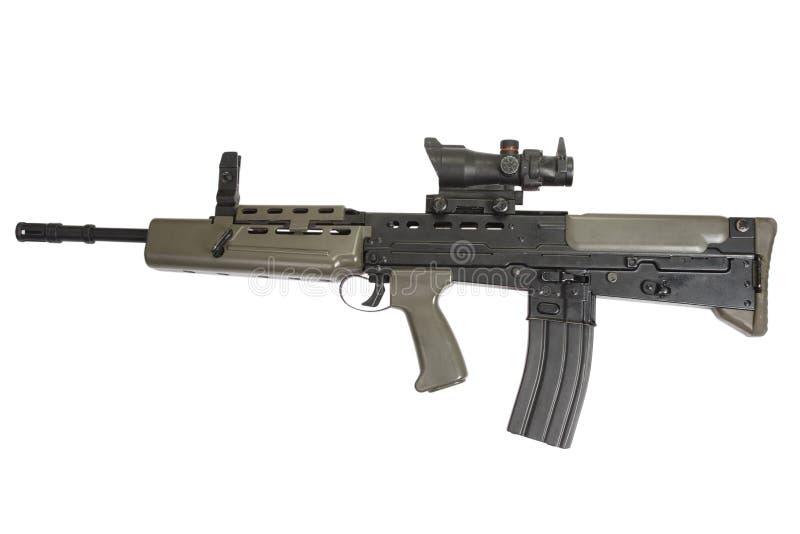 Brittiskt anfallgevär L85 royaltyfria foton