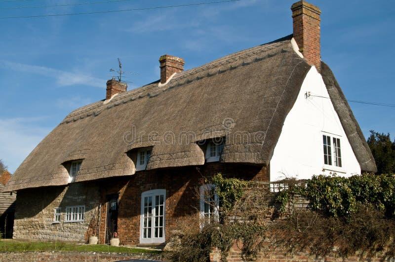 Brittiskt Klassiskt Home Lantligt Fotografering för Bildbyråer