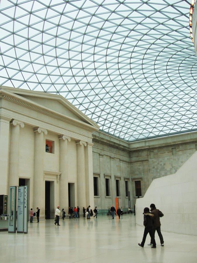 brittiskt museum royaltyfri fotografi