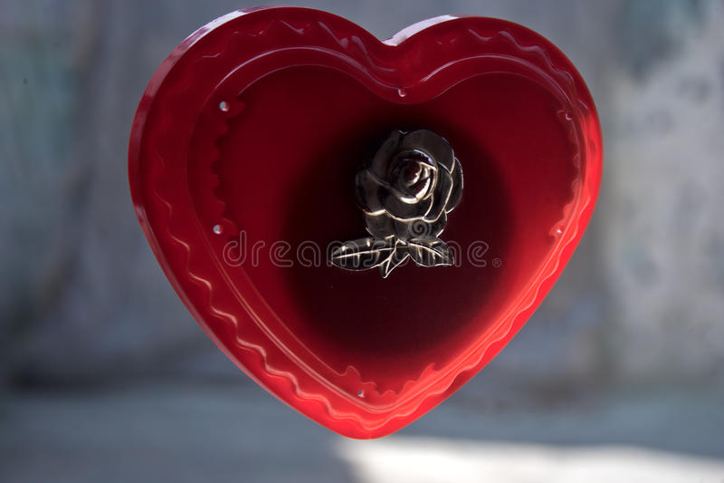 Brittle Heart royalty free stock images
