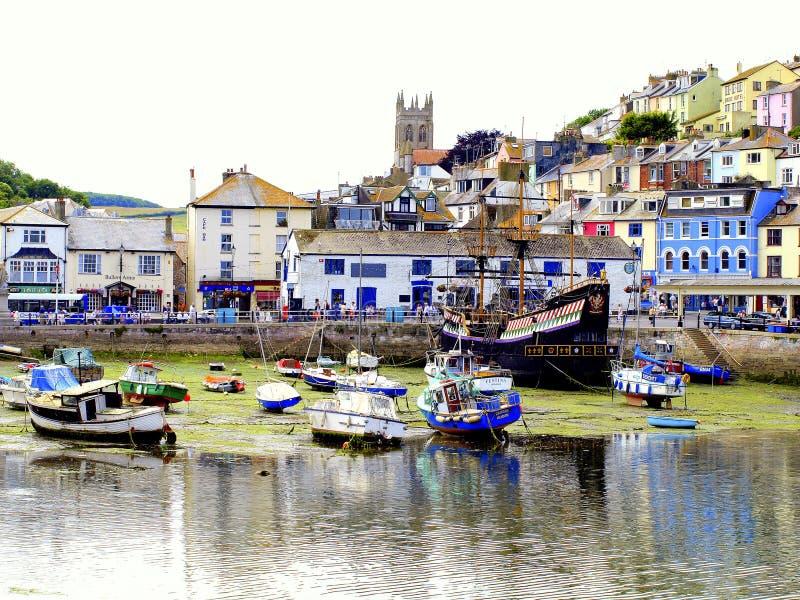 Brixham, Devon, UK. obraz royalty free