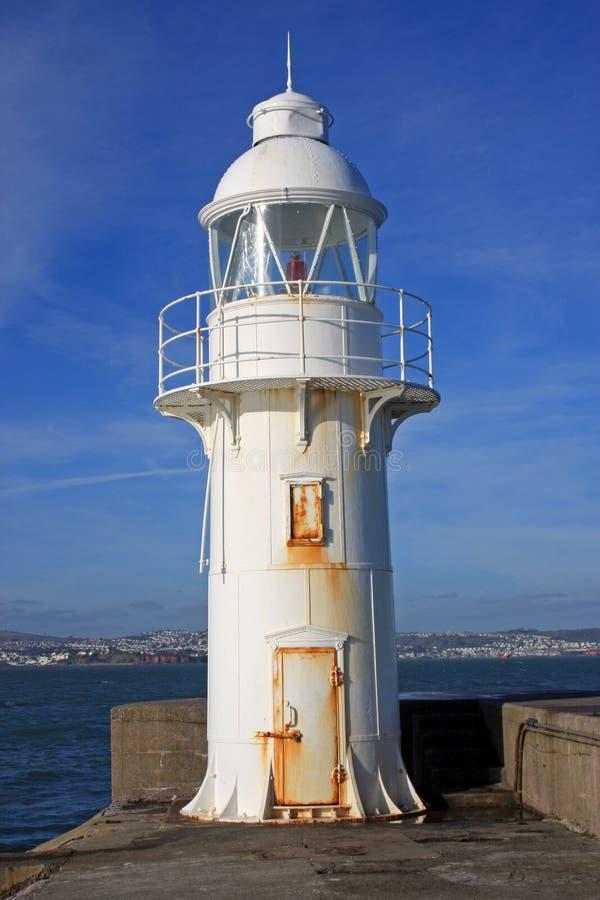 Brixham Lighthouse. In Torbay, Devon royalty free stock images