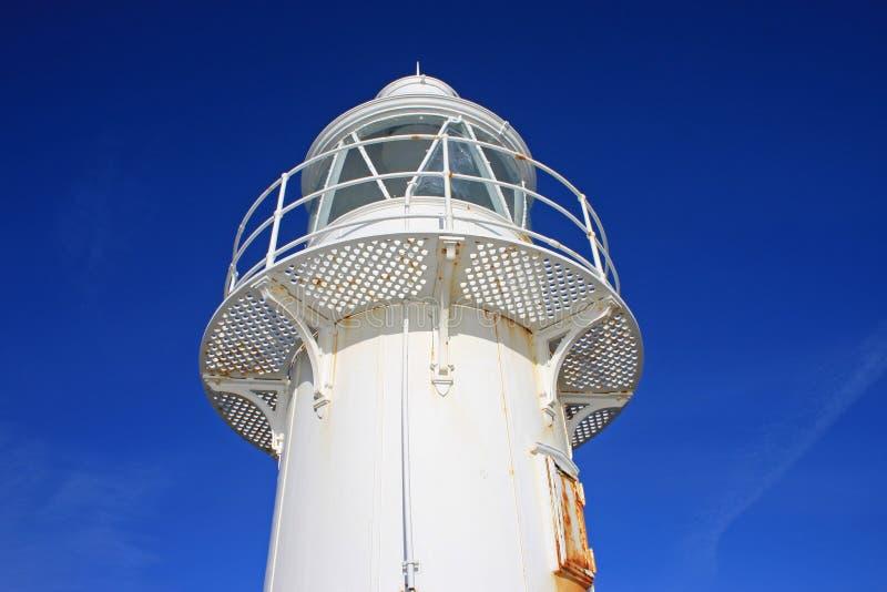 Brixham Lighthouse. Platform of Brixham lighthouse, Torbay stock images