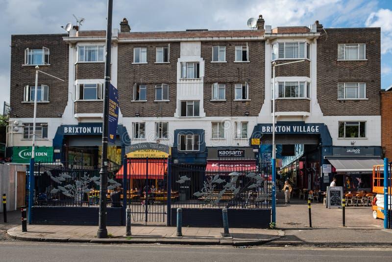 Brixton wioska, Południowy Zachodni Londyn fotografia stock