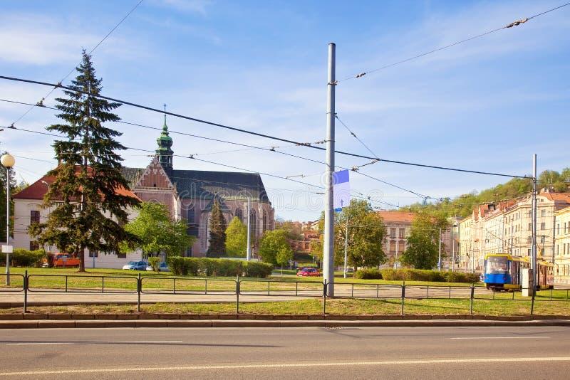 Brno. Arquitetura da cidade imagens de stock royalty free