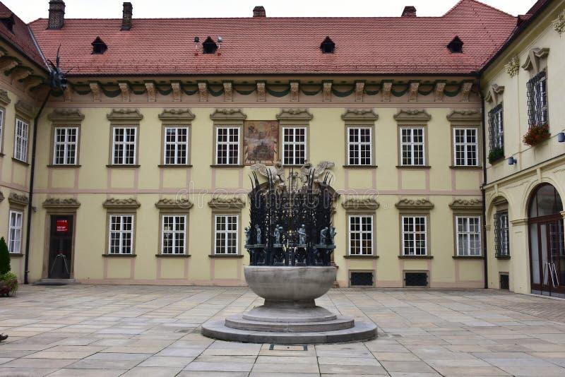 Brno, capital de la pieza de Moravian de la República Checa fotos de archivo