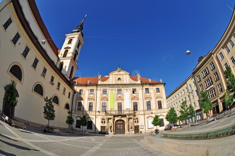 Brno, historyczny czeski miasteczko fotografia royalty free