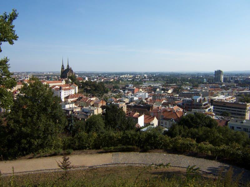 Brno miasta republika czech obraz royalty free