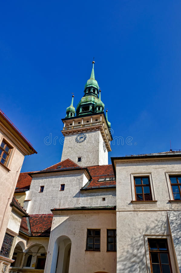 Brno Old Town Hall Tower royalty free stock photography
