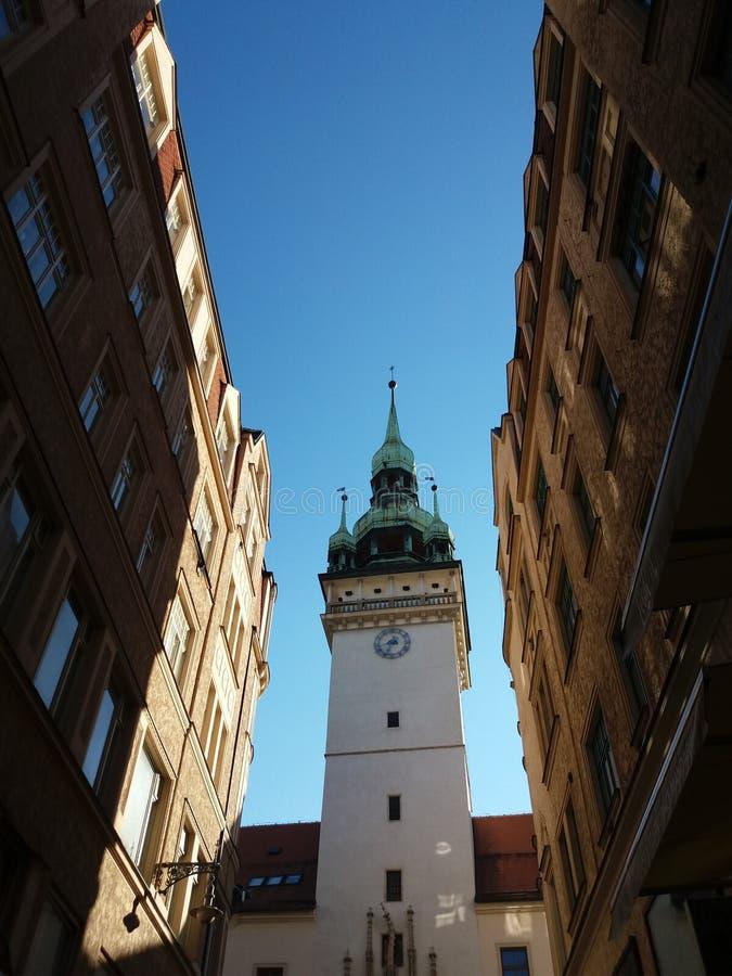 Brno Oude Stad stock afbeeldingen