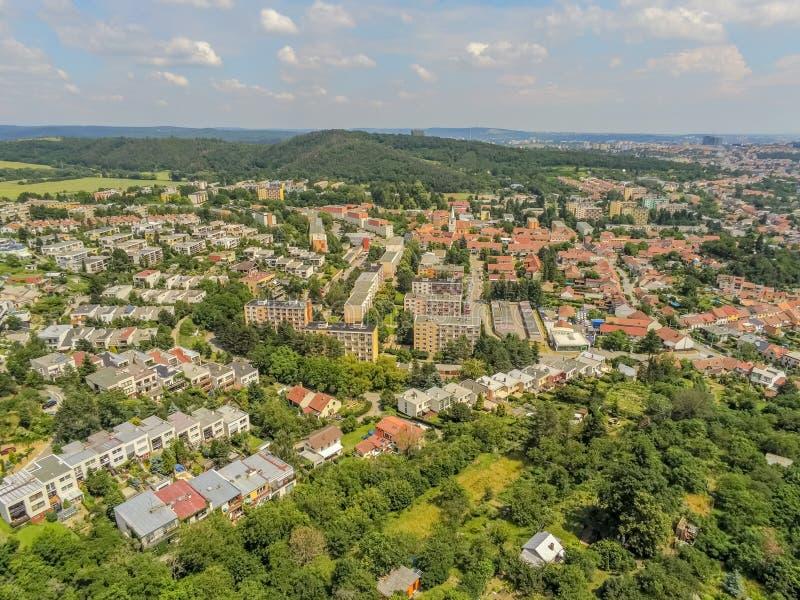brno północno-zachodni okręg Brno nad, republika czech zdjęcie royalty free