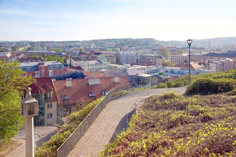 Brno. Paisaje urbano fotografía de archivo libre de regalías