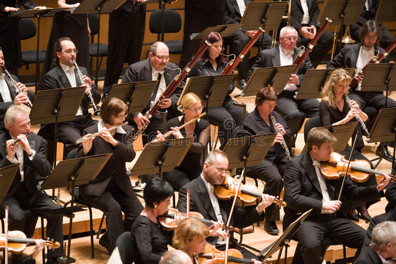 Download Brno Philharmonic Orchestra Perform Editorial Stock Image - Image: 13865039