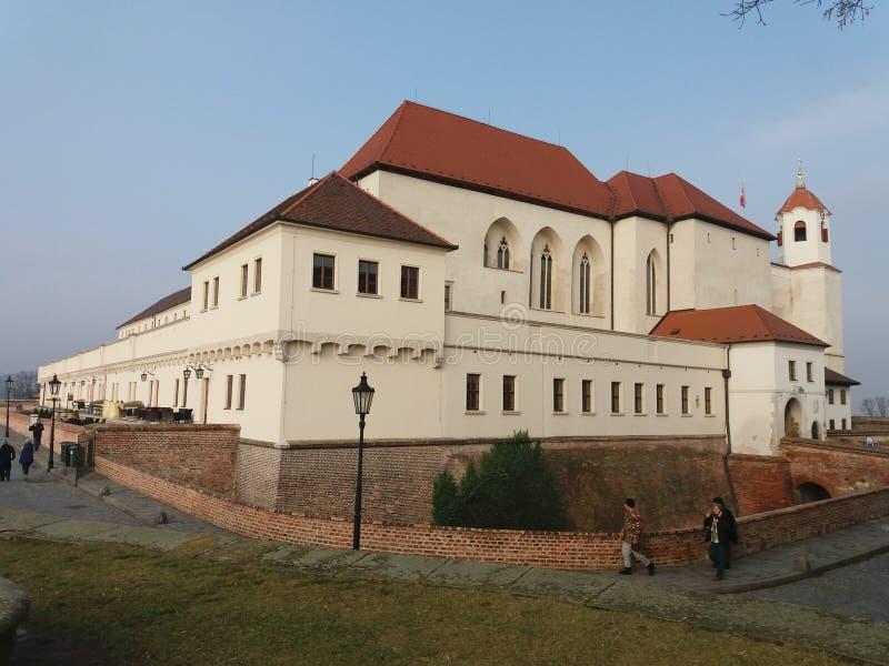 Brno, Spielberg Castle stock photos