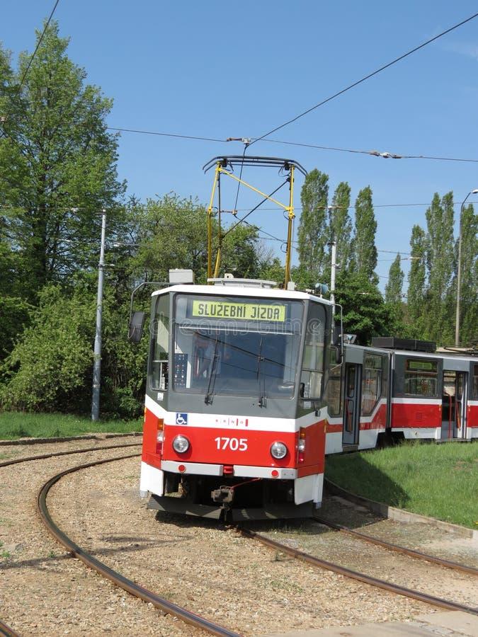 Brno tram royalty free stock photo