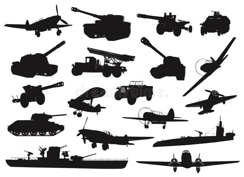 Broń ilustracja wektor