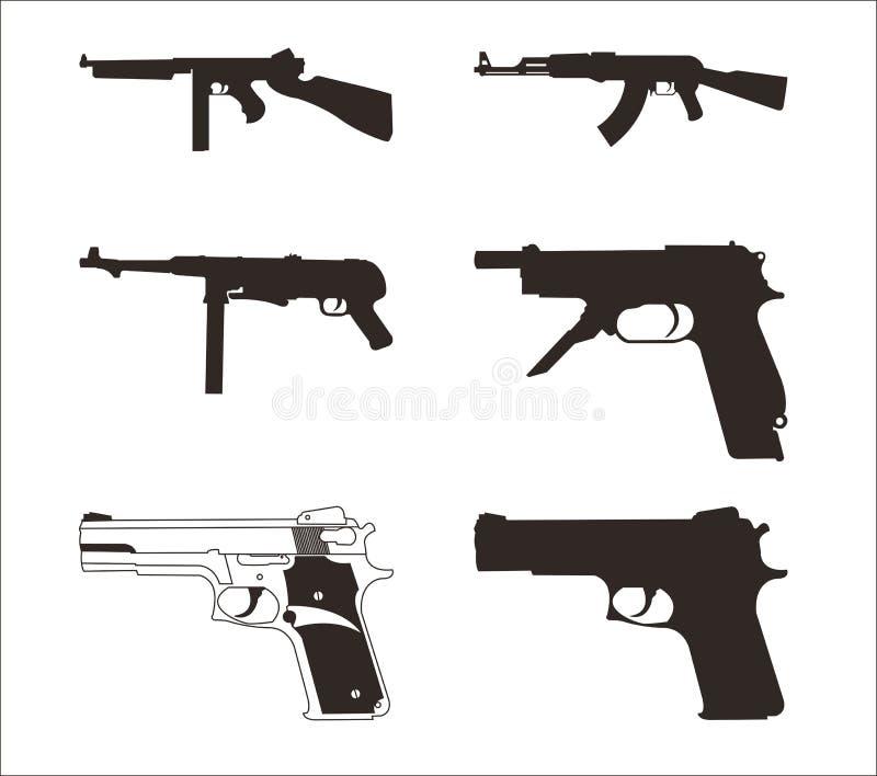 broń ilustracji