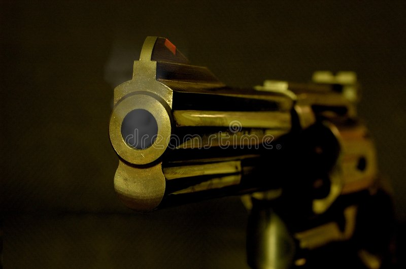 broń smokin fotografia stock