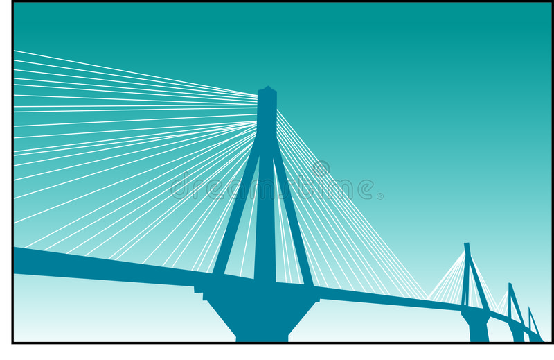 bro royaltyfria bilder