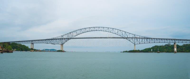 Bro av de Americas Puente de lasna Americas arkivbilder