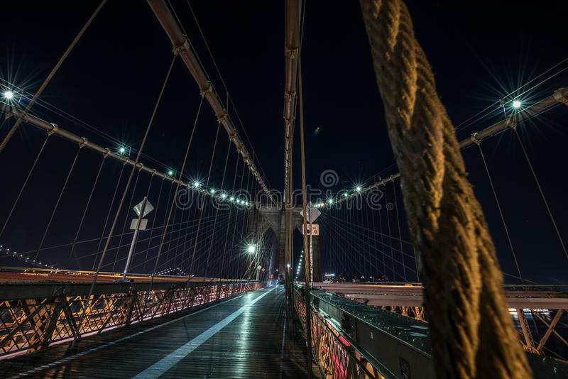 bro brooklyn royaltyfria bilder