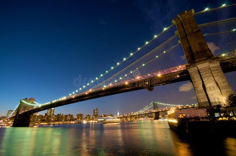 bro brooklyn New York royaltyfri bild