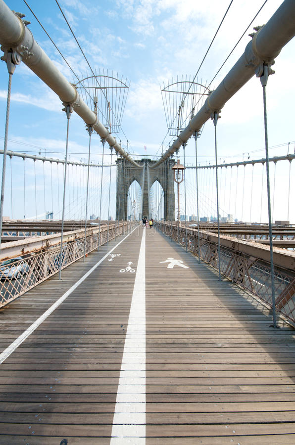 bro brooklyn New York fotografering för bildbyråer