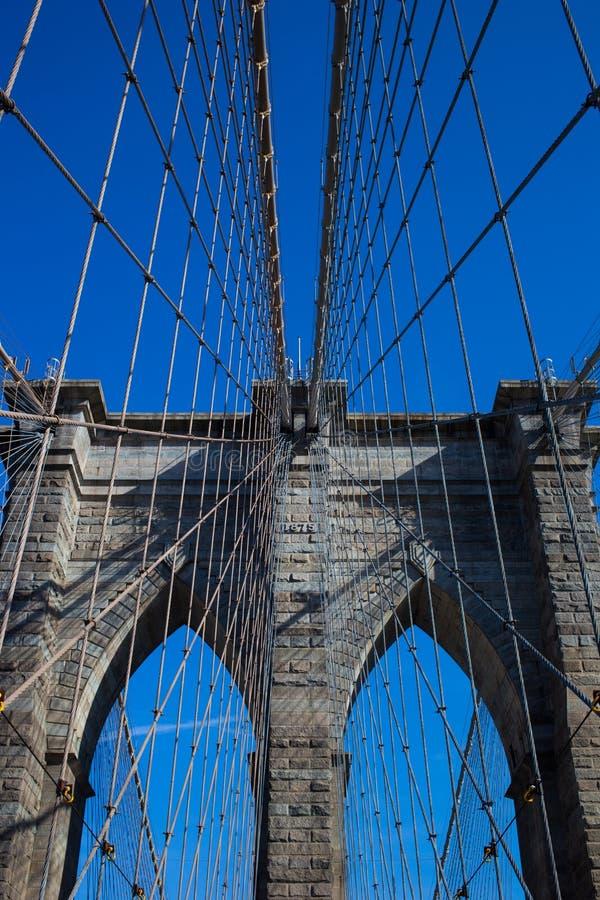 bro brooklyn New York royaltyfria bilder