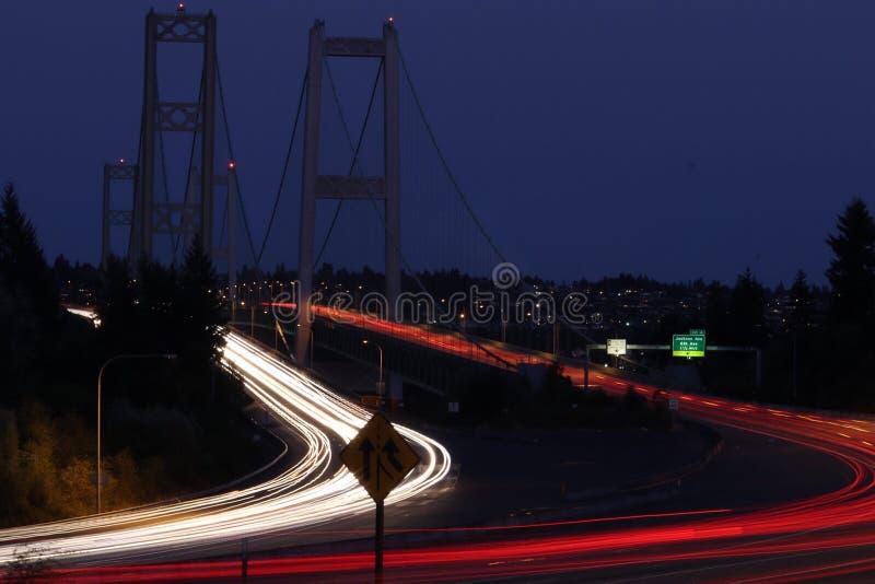 Bro för Tacoma trångt pass arkivfoton