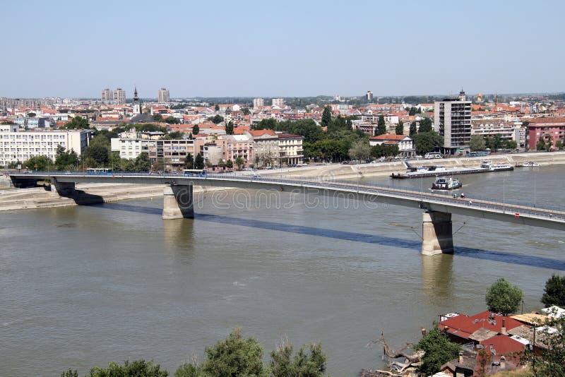 Bro i SAD Novi fotografering för bildbyråer