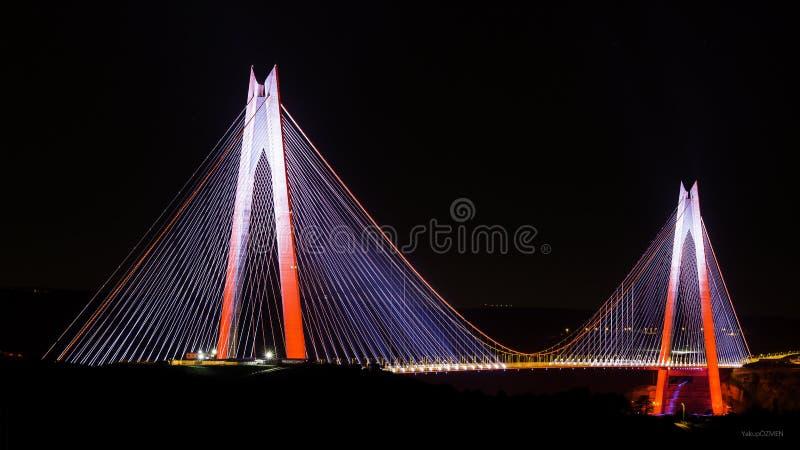 Bro istanbul för Yavuz sultanselim royaltyfri fotografi