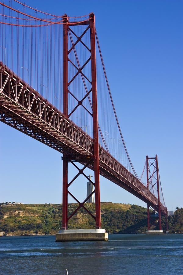 bro lisbon fotografering för bildbyråer