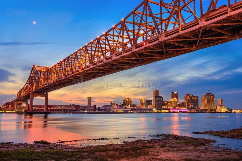 bro New Orleans arkivfoton