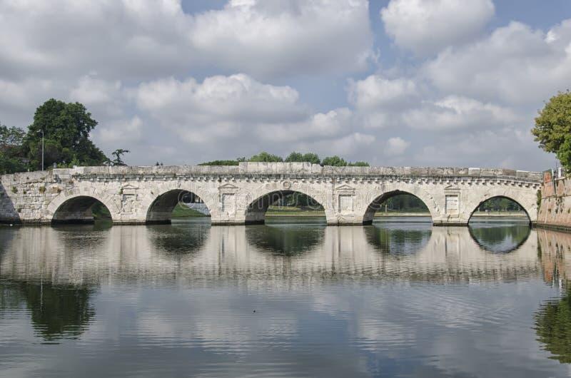 bro roman rimini fotografering för bildbyråer