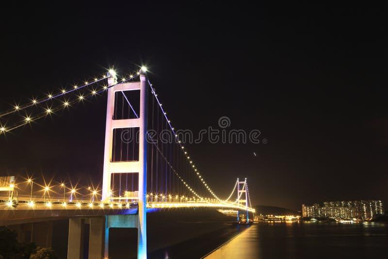 bro som tsing yi royaltyfria foton