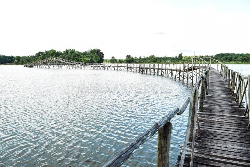 Bro till löst royaltyfri bild