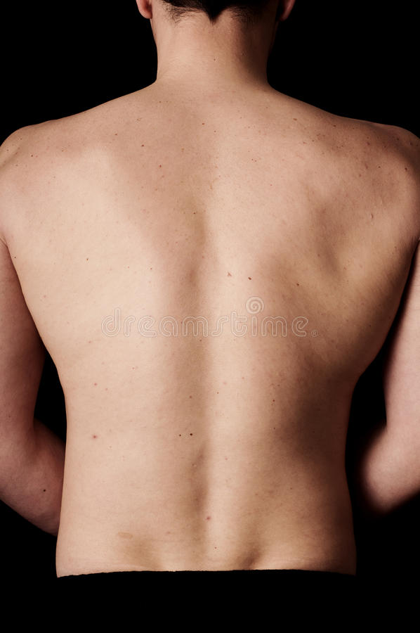 Broad shoulders stock photography